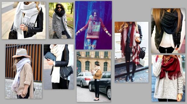 collage foulard