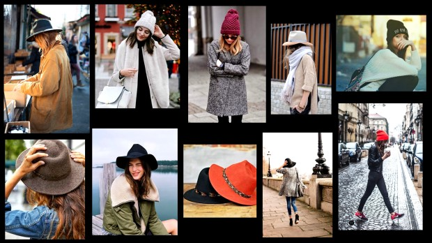 collage gorros