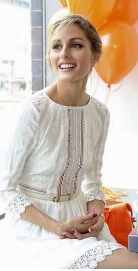 Olivia Palermo white
