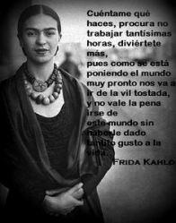 Frases De Frida Kahlo Sobre La Mujer Mensagem Boa Noite