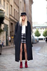 Oversized Coat skirt