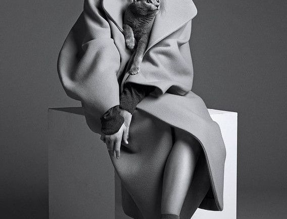 oversized coat portadita