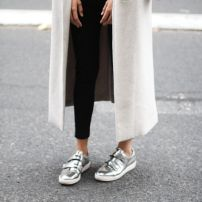 Oversized Coat sporty style