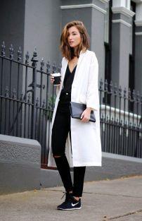 White Oversized Coat