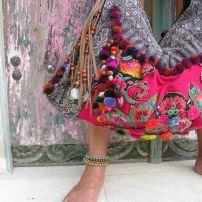 boho style handbag