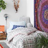 deco boho bedroom