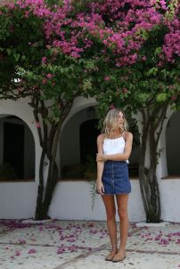 Jean Skirt Summer