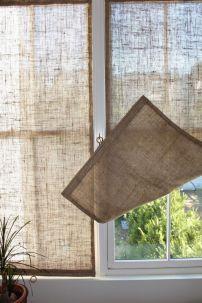 arpillera cortinas