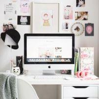 escritorio blanco moderno