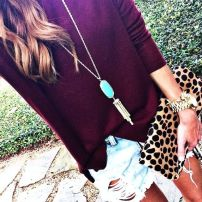marsala sweater