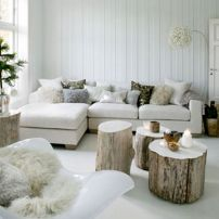 estilo nordico living