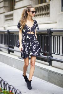 flores vestido