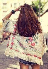 flores kimono