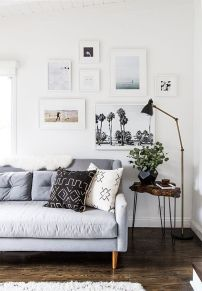 gallery wall living