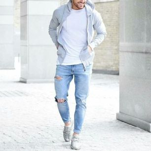 classic ripped jean
