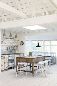 home deco beach kitchen